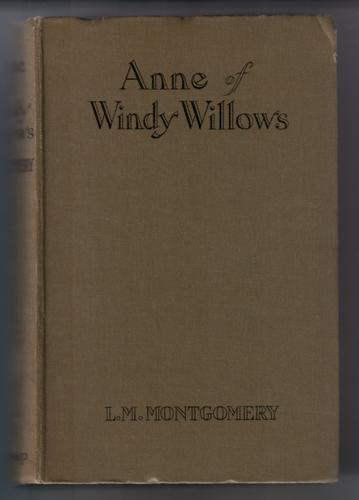 Anne of Windy Willows by Lucy Maud Montgomery