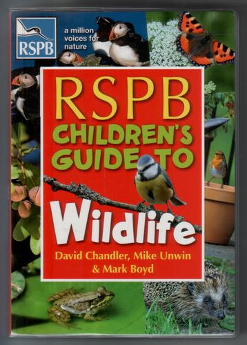 RSPB children's guide to wildlife by David Chandler
