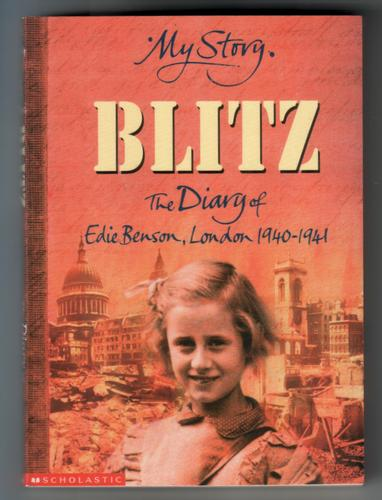 Blitz - The Diary of Edie Benson by Vince Cross