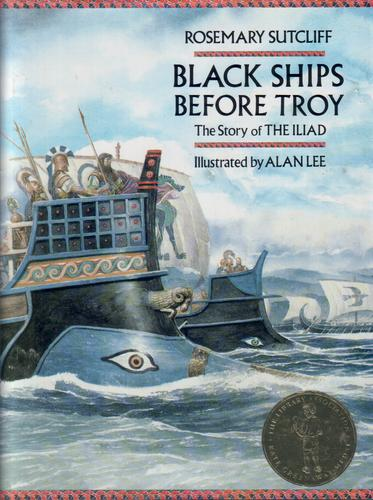Black Ships Before Troy; The Story of the Illiad
