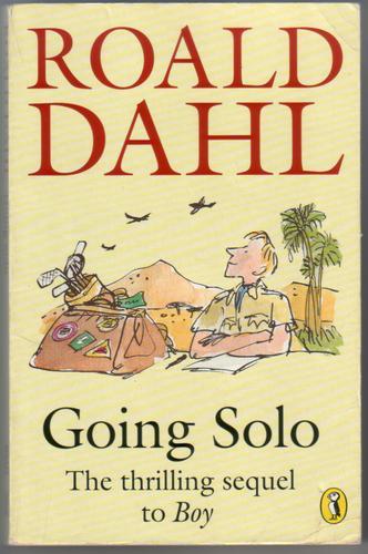 going solo roald dahl