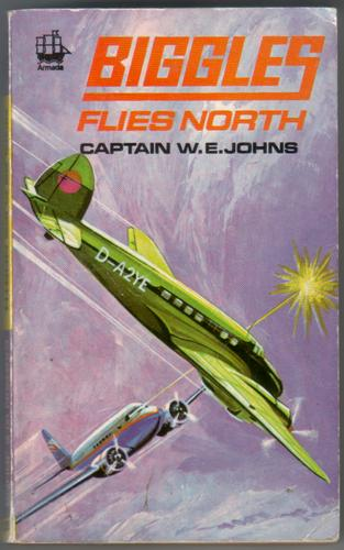BIGGLES FLIES NORTH BY CAPT. W.E. JOHNS HB 5TH EDITION 1950