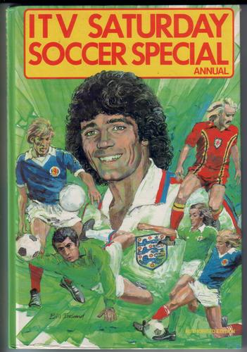 ITV Saturday Soccer Special Annual by Peter Bills