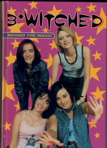 b witched  behind the magic by nigel cawthorne   children