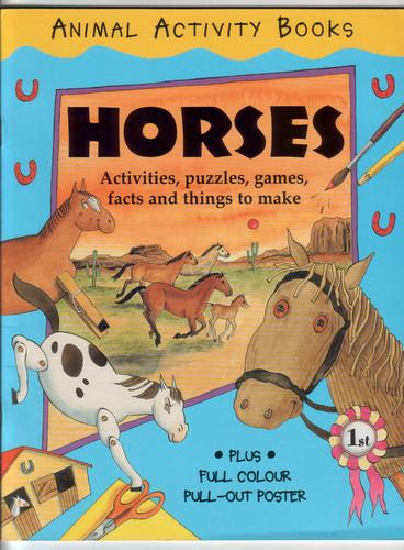 Animal Activity Book: Horses