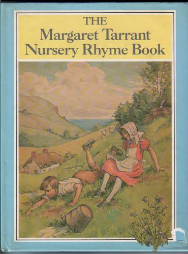 Nursery Book Cover Design ~ The margaret tarrant nursery rhyme book by w