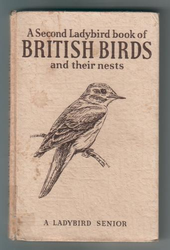 A Second Ladybird Book of British Birds and their nests by Brian Vesey-Fitzgerald
