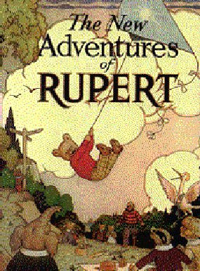 Cover of the 1936 Rupert Annual