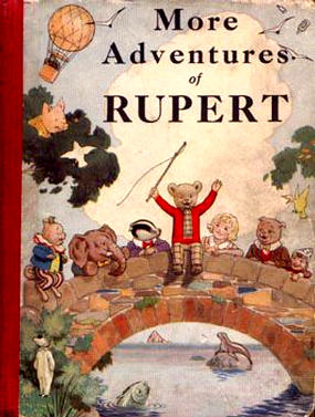 Cover of the 1937 Rupert Annual