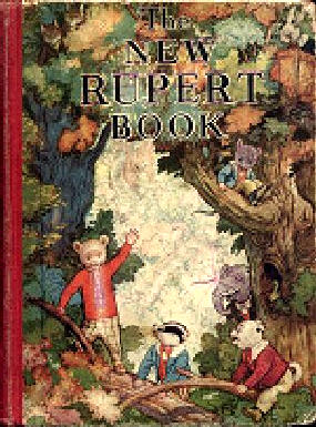 Cover of the 1938 Rupert Annual