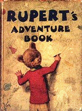 Cover of the 1940 Rupert Annual