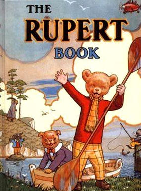 Cover of the 1941 Rupert Annual
