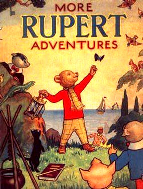 Cover of the 1943 Rupert Annual