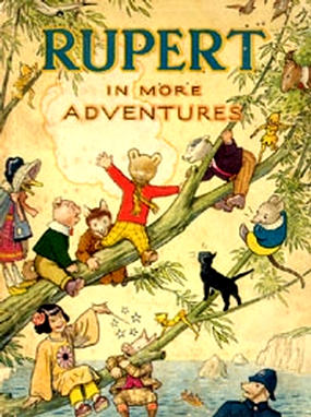 Cover of the 1944 Rupert Annual