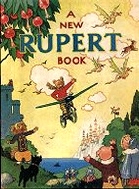 Cover of the 1945 Rupert Annual