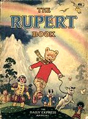 Cover of the 1948 Rupert Annual