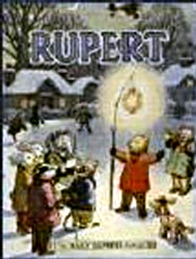 Cover of the 1949 Rupert Annual