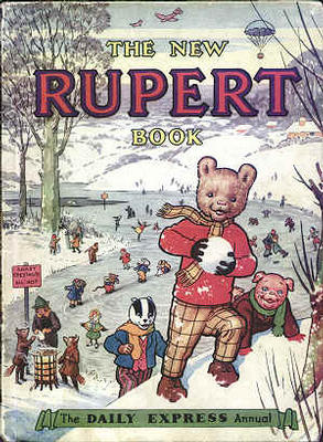 Cover of the 1951 Rupert Annual