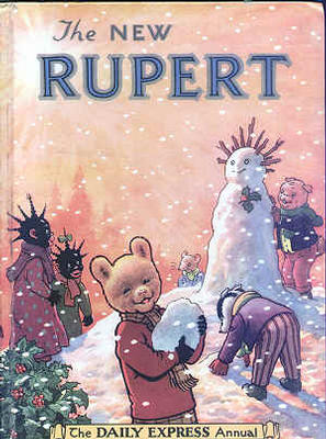 Cover of the 1954 Rupert Annual