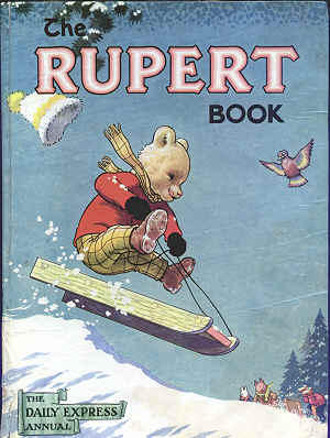 Cover of the 1956 Rupert Annual