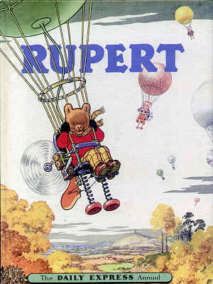 Cover of the 1957 Rupert Annual