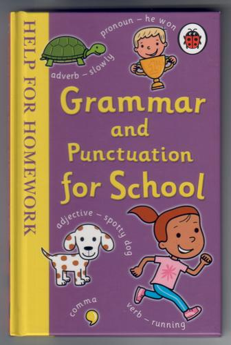 Grammar and punctuation for school