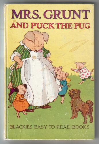 Mrs Grunt and Puck the Pug
