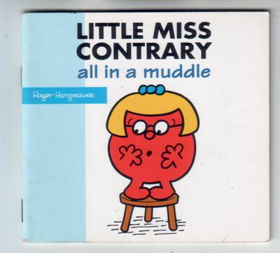 Little Miss Contrary all in a muddle by Adam Hargreaves