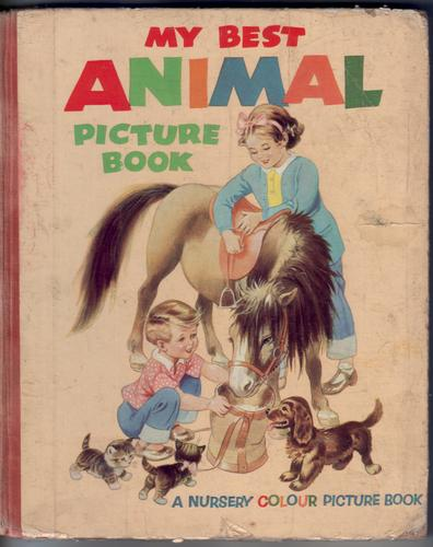 My Best Animal Picture Book by Mary Kendall Lee