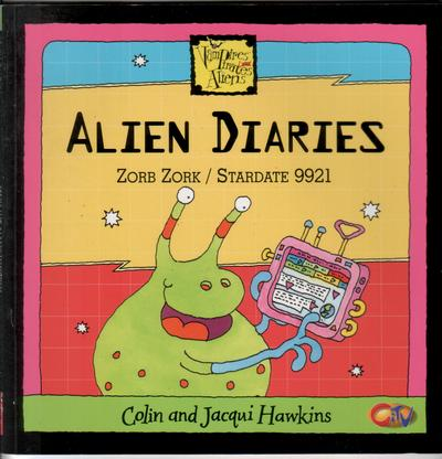 Alien Diaries by Colin Hawkins