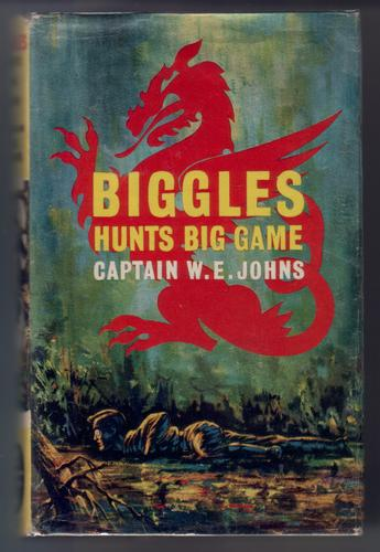 Biggles hunts Big Game