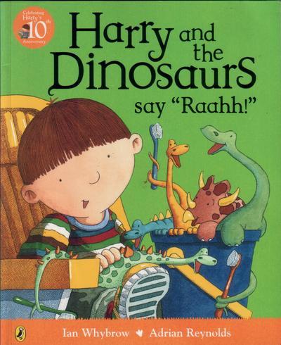 WHYBROW, IAN - Harry and the Dinosaurs Say 'Raahh!'