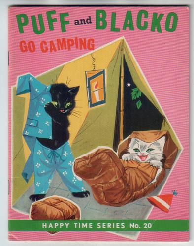 Puff and Blacko go camping
