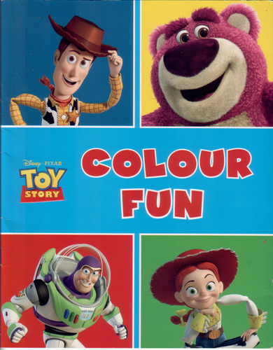 Toy Story Colour Fun