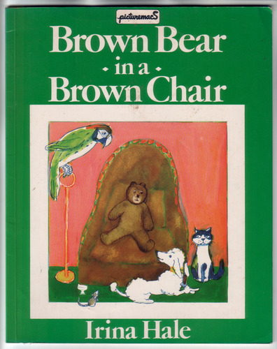 Brown Bear in a Brown Chair