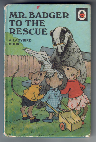 Mr Badger to the rescue