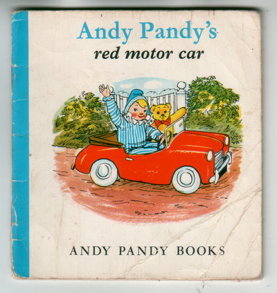 Andy Pandy's red motor car