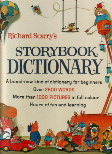 Richard Scarry's Story Book Dictionary