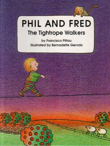 Phil and Fred the Tightrope Walkers by Francesco Pittau