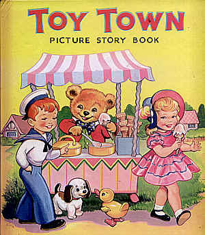 Toy Town Picture Story Book