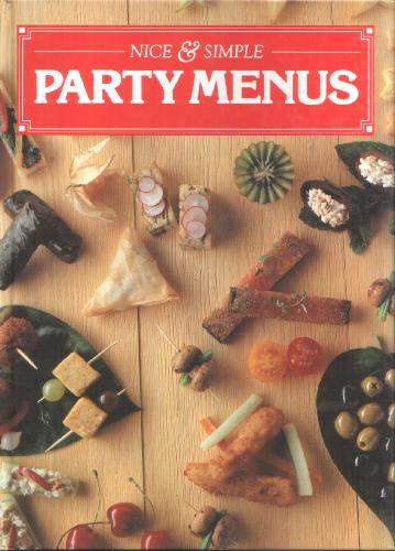 Nice and Simple Party Menus