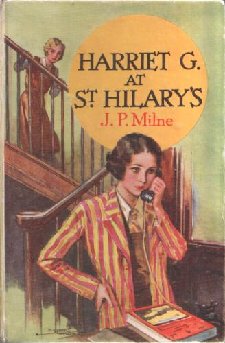 Harriet G at St Hilary's by Jane Paterson Milne