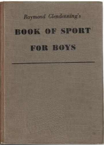 Raymond Glendenning's Book of Sport for Boys 1954