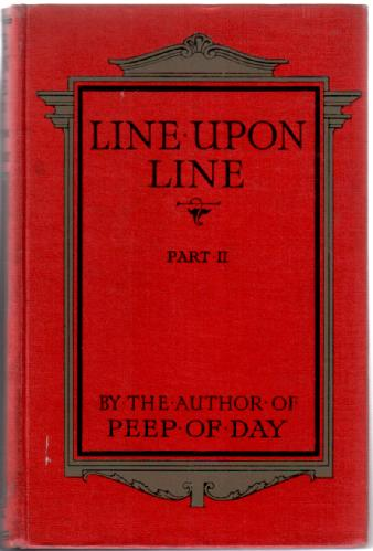 Line Upon Line, Part II by Favel Lee Mortimer