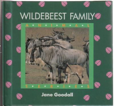 Wildebeest Family by Jane Goodall