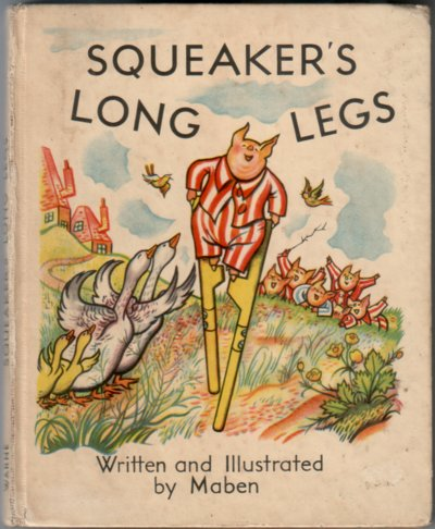 Squeaker's Long Legs by Maben
