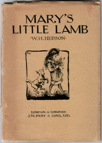 Mary's Little Lamb by W. H. Hudson