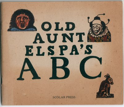 Old Aunt Elspa's ABC by Joseph Crawhall