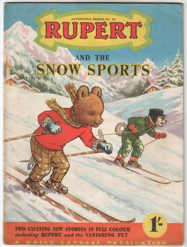 Rupert and the Snow Sports