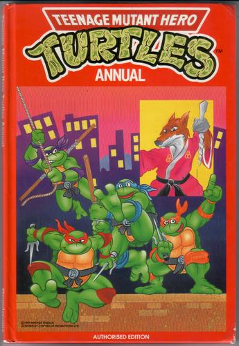 Teenage Mutant Hero Turtles Annual